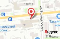 Схема проезда до компании Кафе73 в Ярославле