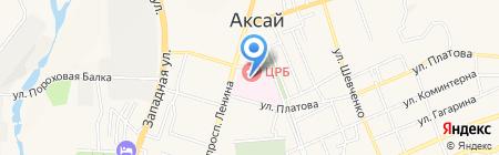 Родильный дом на карте Аксая