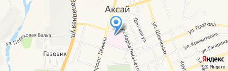 Центральная районная больница Аксайского района на карте Аксая
