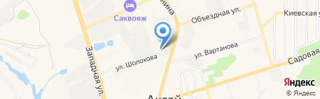 Югэнергострой на карте Аксая
