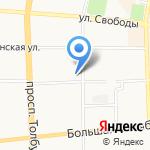 Алисия на карте Ярославля