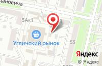 Схема проезда до компании Аркадия-сервис в Ярославле