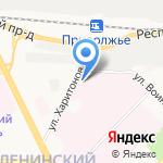 Клиническая больница скорой медицинской помощи им. Н.В. Соловьева на карте Ярославля