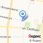 ДЮСШ №16 на карте Ярославля
