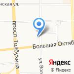 Пролог на карте Ярославля