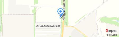Орбита-Nissan на карте Аксая
