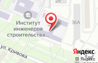 Схема проезда до компании Экспресс-Ярсервис в Ярославле