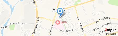 Маклер М на карте Аксая