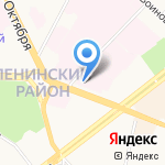 Клиническая больница №1 на карте Ярославля