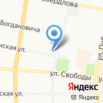 Мята на карте Ярославля