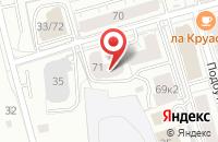 Схема проезда до компании Энергомонтаж в Ярославле