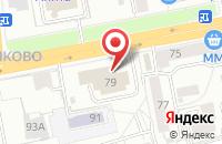 Схема проезда до компании Инфинити в Ярославле