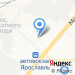 Гаттерия на карте Ярославля