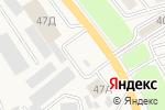 Схема проезда до компании Теплотехник в Аксае