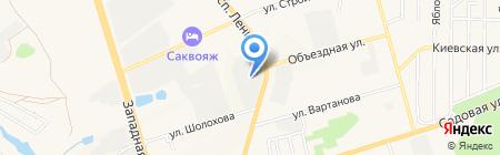Торговая фирма на карте Аксая