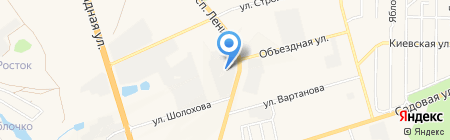 АГ трубопласт на карте Аксая