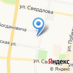 Эконом-класс на карте Ярославля