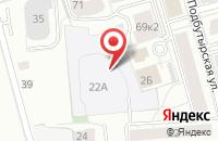 Схема проезда до компании Детский дом № 1, МОУ в Ярославле