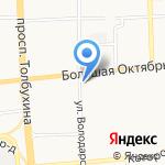 Шарм на карте Ярославля