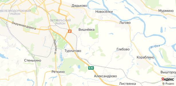 Гряцкое на карте