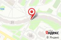Схема проезда до компании Горжилсервис в Ярославле