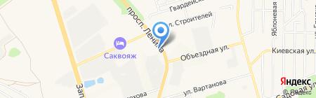 Катюша на карте Аксая