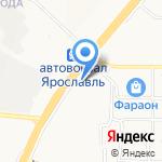 Руфос на карте Ярославля
