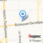 Заказ на карте Ярославля