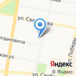 Областная детская библиотека им. И.А. Крылова на карте Ярославля