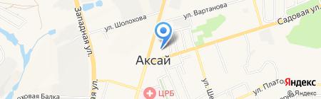 ФОРМАТА на карте Аксая