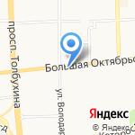 Pandora на карте Ярославля