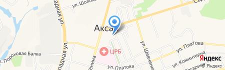 Районный совет ветеранов войны труда на карте Аксая