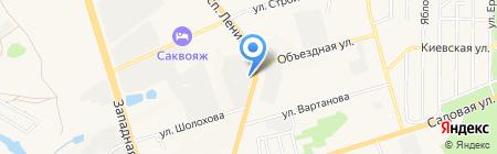 МСК на карте Аксая