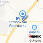 Облик на карте Ярославля