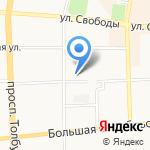 Стоматологический кабинет на карте Ярославля