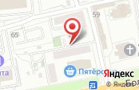 Схема проезда до компании Амур в Ярославле