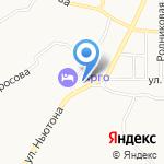 Лоскуток на карте Ярославля