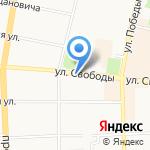 Розалия на карте Ярославля