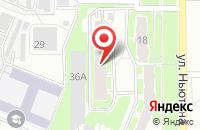 Схема проезда до компании Электрострой в Ярославле