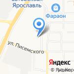 Управление организации дознания на карте Ярославля