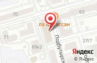 Схема проезда до компании Ярпроект-ит в Ярославле