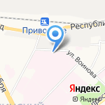 КАНИС на карте Ярославля