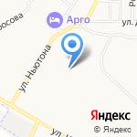 Детский сад №12 на карте Ярославля