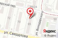 Схема проезда до компании ДИНК в Ярославле
