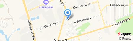 Строительная компания на карте Аксая