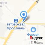 Парус на карте Ярославля