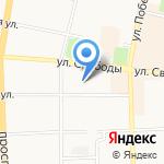 Каре на карте Ярославля