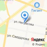 АК недвижимость на карте Ярославля