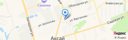Автосервис на карте Аксая