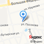Дом детского творчества Красноперекопского района на карте Ярославля